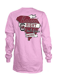 ROYCE University of South Carolina Raised Right Tee