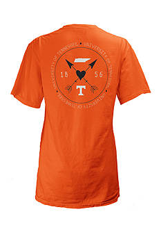 ROYCE University of Tennessee Boho Arrow Short Sleeve Tee