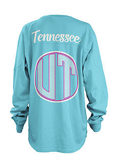 ROYCE University of Tennessee Seersucker Monogram Tee