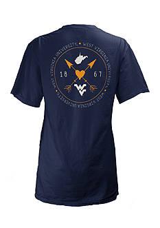 ROYCE West Virginia University Boho Arrow Short Sleeve Tee