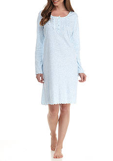 Miss Elaine Cottonessa Dot Sleepshirt