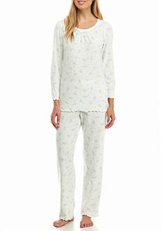 Miss Elaine Waffle Pajama Set