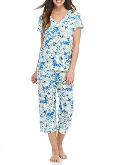 Miss Elaine Cottonessa Capri Pajama Set
