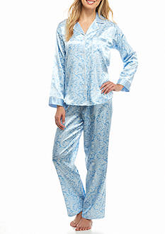 Miss Elaine Two Piece Pajama Set