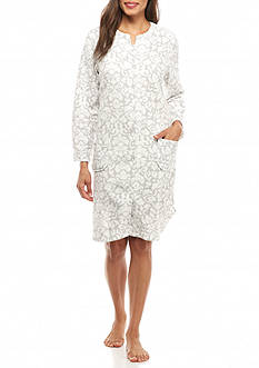 Miss Elaine Brushback Terry Short Robe