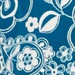 Miss Elaine Women Sale: Teal/Ivory Miss Elaine Long Interlock Zip Knit Robe