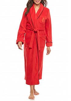 Lauren Fleece Long Robe