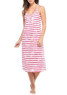Lauren Ralph Lauren Stripe Ballet Gown