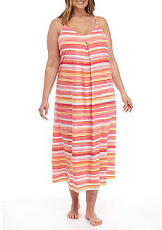Lauren Ralph Lauren Plus Size Maxi Sleep Gown
