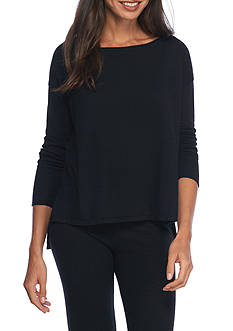 Lauren Boatneck Pajama Top