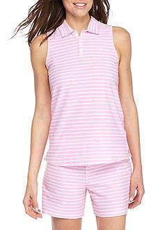 Lauren Ralph Lauren Sleeveless Pique Boxer Pajama Set
