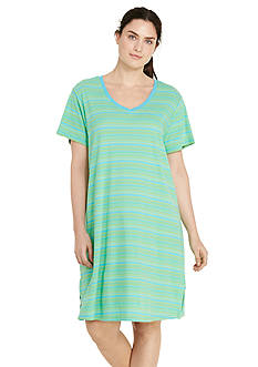 Lauren Ralph Lauren Plus Size Knit Sleepshirt