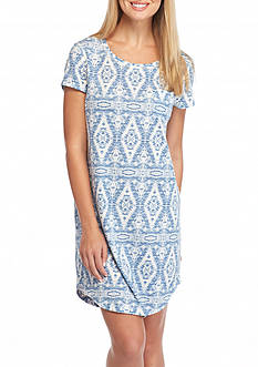 Lauren Ralph Lauren Icon Scoop Neck Sleepshirt
