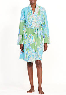 Lauren Ralph Lauren Shawl Collar Robe