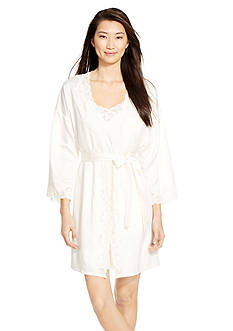 Lauren Ralph Lauren Satin Bridal Robe