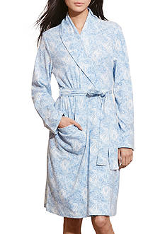Lauren Ralph Lauren Paisley Cotton Robe