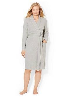 Lauren Ralph Lauren Plus Size Shawl Wrap Robe