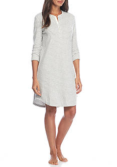 Lauren Striped Double Face Sleepshirt