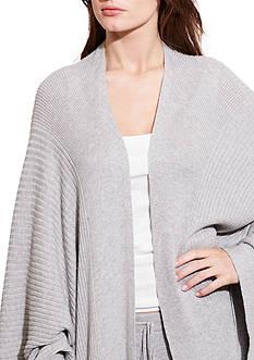Lauren Ralph Lauren Poncho Wrap Pajama Top