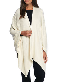 Lauren Poncho Wrap Pajama Top
