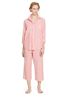 Lauren Ralph Lauren Cotton Capri Pajama Set