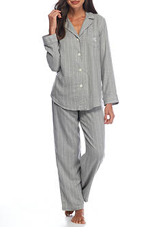 Lauren Woven Striped Pajama Set