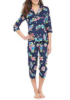 Lauren Ralph Lauren Lawn Capri Pajama Set