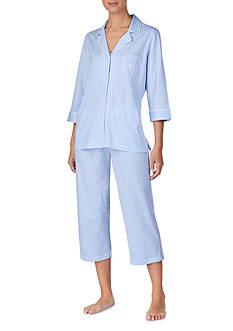 Lauren Ralph Lauren Knit Capri Pajama Set