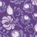 Olga® Women Sale: Purple Velvet Floral Print Olga Without A Stitch Brief
