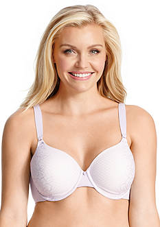 Olga® To A Tee Lace Side Support Contour Underwire Bra