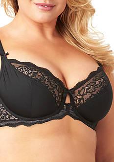 Olga Flirty Back Sheer Lace Underwire Bra - GI9711A