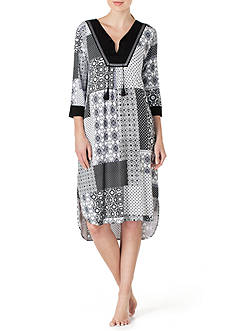 Ellen Tracy Long Caftan Tunic
