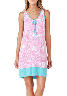 Ellen Tracy Printed Sleeveless Chemise