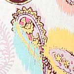 Ellen Tracy Women Sale: Ivory Multi Ellen Tracy Printed Zip Caftan