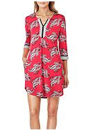 Ellen Tracy Printed Short Tunic