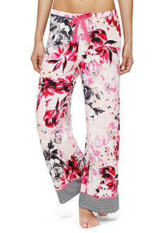 Ellen Tracy Printed Palazzo Pant