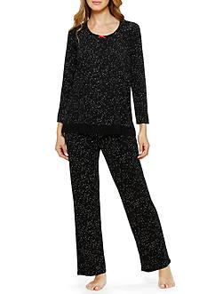Ellen Tracy Long Sleeve Pajama Top