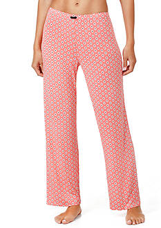 Ellen Tracy Printed Long Pants