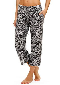 Ellen Tracy Drawstring Lounge Capri