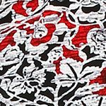 Women: Designer Sale: Black / Ivory Ellen Tracy Caftan Pajama Set