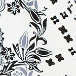 Women: Designer Sale: Ivory / Paisley Ellen Tracy Caftan Pajama Set