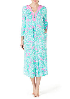 Ellen Tracy Printed Floral Tunic