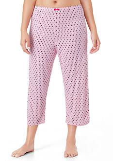 Ellen Tracy Plus Size Cropped Pant