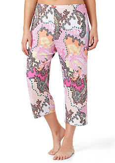 Ellen Tracy Plus Size Cropped Pants