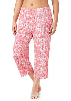 Ellen Tracy Plus Size Cropped Pant