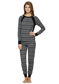 DKNY Long Sleeve Pajama Set