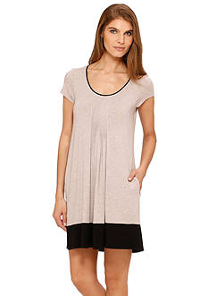 DKNY Color Block Chemise