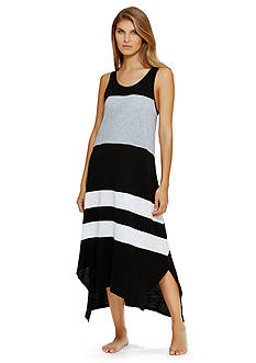 DKNY Color Block Stripe Chemise