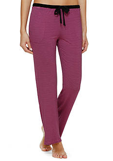 DKNY Striped Casual Pants