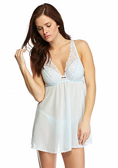 Cinema Etoile Nicole Soft Cup Babydoll with Embroidery
